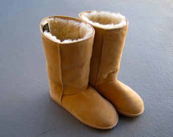 購入したブーツ 冬の必需品になりそう