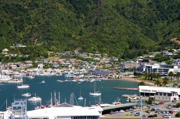 ニュージーランド南島ピクトン