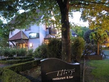 クライストチャーチの高級レストラン ティファニーズ