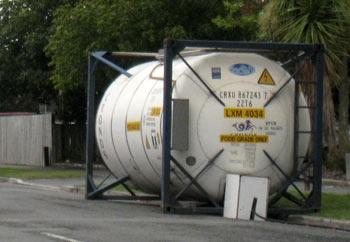 水のタンク