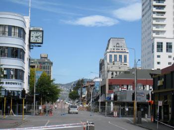 ニュージーランド地震 マンチェスターストリート