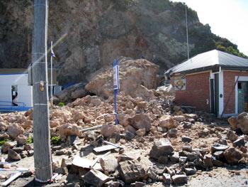 ニュージーランド地震 サムナー