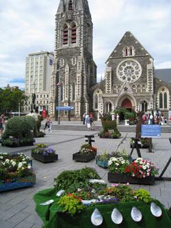 ニュージーランド地震 大聖堂地震前