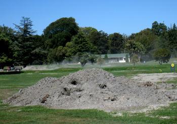 ニュージーランド地震 ハグレーパーク