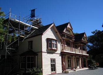 ニュージーランド地震 リカトンハウス