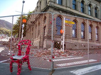 クライストチャーチ地震後のリトルトン