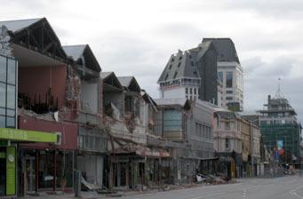 ニュージーランド クライストチャーチ地震