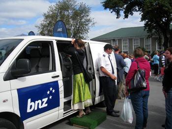 移動式ATM BNZ