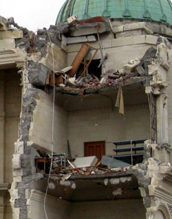 クライストチャーチ地震の被害