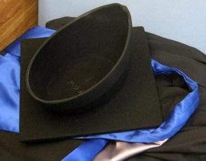 博士みたいな帽子