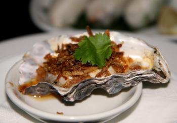 ニュージーランド産の牡蠣