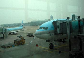 大韓航空・コリアンエアーでニュージーランドへ