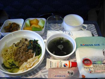 大韓航空名物ビビンバ