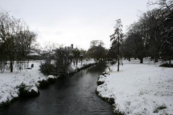 雪のハグレーパーク