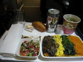 ジェットスタービジネスクラス機内食