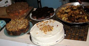 ニュージーランドのケーキ