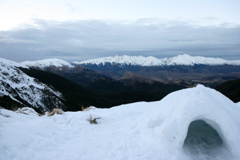 ニュージーランドの山