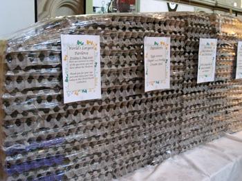 巨大パブロアを作るのに使った卵?