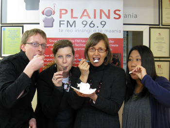PlainsFMでパブロバを試食