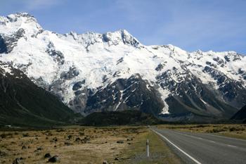 ニュージーランド最高峰クック山