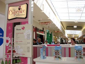 クライストチャーチのカップケーキ店