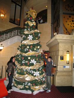 クライストチャーチカジノのクリスマス